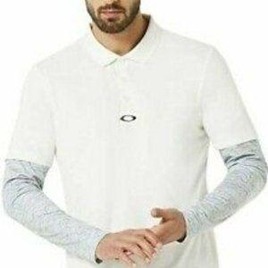 Oakley polo shirt long sleeve BNWT printed sleeve